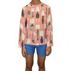 Lamps Kids  Long Sleeve Swimwear by Alisyart