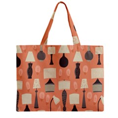Lamps Zipper Mini Tote Bag by Alisyart