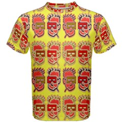Funny Faces Men s Cotton Tee by Amaryn4rt