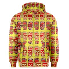 Funny Faces Men s Zipper Hoodie by Amaryn4rt