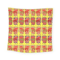 Funny Faces Square Tapestry (small) by Amaryn4rt