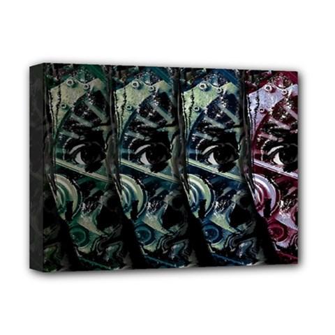 Wild Child Deluxe Canvas 16  X 12   by Valentinaart