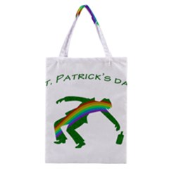 St  Patricks Classic Tote Bag by Valentinaart