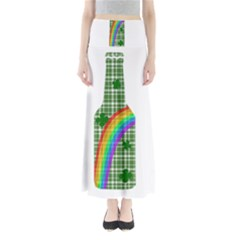 St  Patricks Day   Bottle Maxi Skirts by Valentinaart