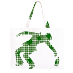 St  Patrick s Day Zipper Large Tote Bag by Valentinaart