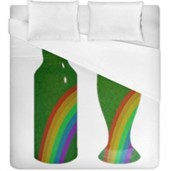 St  Patrick s Day Duvet Cover (king Size) by Valentinaart