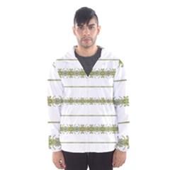 Ethnic Floral Stripes Hooded Wind Breaker (men) by dflcprintsclothing