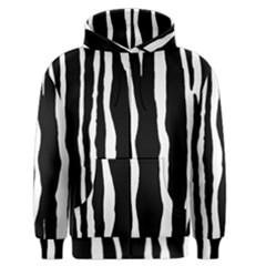 Zebra Background Pattern Men s Zipper Hoodie by Amaryn4rt