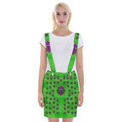 Smoking Hot Cartoon Lady Suspender Skirt by pepitasart