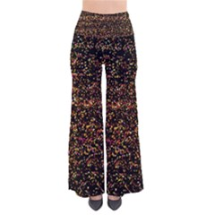 Colorful And Glowing Pixelated Pattern Pants by Amaryn4rt