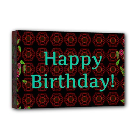 Happy Birthday To You! Deluxe Canvas 18  X 12   by Amaryn4rt