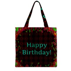 Happy Birthday To You! Grocery Tote Bag by Amaryn4rt