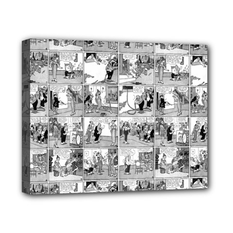 Old Comic Strip Canvas 10  X 8  by Valentinaart