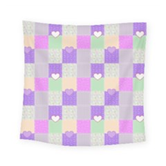Patchwork Square Tapestry (small) by Valentinaart