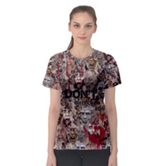 Zombie Women s Sport Mesh Tee by PattyVilleDesigns