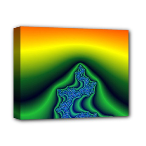 Fractal Wallpaper Water And Fire Deluxe Canvas 14  X 11  by Amaryn4rt