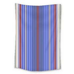 Colorful Stripes Background Large Tapestry by Amaryn4rt