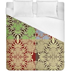 Multicolor Fractal Background Duvet Cover (california King Size) by Amaryn4rt