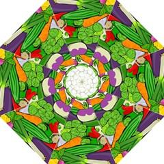 Vegetables  Folding Umbrellas by Valentinaart