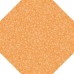 Orange Pattern Hook Handle Umbrellas (medium) by Valentinaart