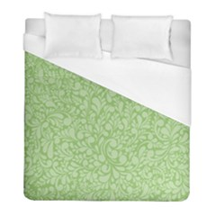 Green Pattern Duvet Cover (full/ Double Size) by Valentinaart
