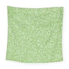 Green Pattern Square Tapestry (large) by Valentinaart