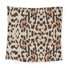 Leopard Pattern Square Tapestry (large) by Valentinaart