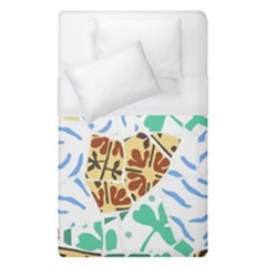 Broken Tile Texture Background Duvet Cover (single Size) by Amaryn4rt