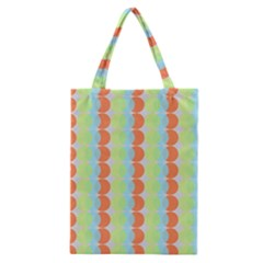 Circles Orange Blue Green Yellow Classic Tote Bag by Alisyart