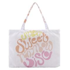 Sugar Sweet Rainbow Medium Zipper Tote Bag by Alisyart