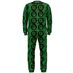 Abstract Pattern Graphic Lines OnePiece Jumpsuit (Men)  by Amaryn4rt