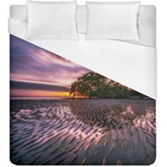 Landscape Reflection Waves Ripples Duvet Cover (king Size) by Amaryn4rt
