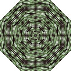 Stripes Camo Pattern Print Folding Umbrellas by dflcprints