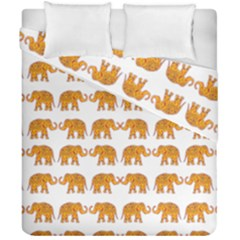 Indian Elephant  Duvet Cover Double Side (california King Size) by Valentinaart