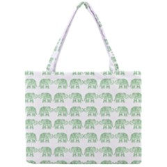 Indian Elephant Pattern Mini Tote Bag by Valentinaart