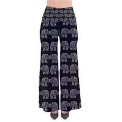 Indian Elephant Pattern Pants by Valentinaart
