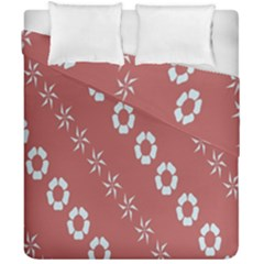 Abstract Pattern Background Wallpaper In Pastel Shapes Duvet Cover Double Side (california King Size)