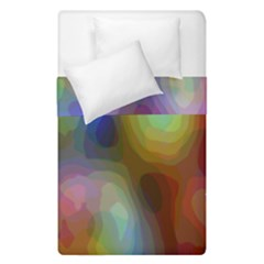 A Mix Of Colors In An Abstract Blend For A Background Duvet Cover Double Side (single Size) by Amaryn4rt