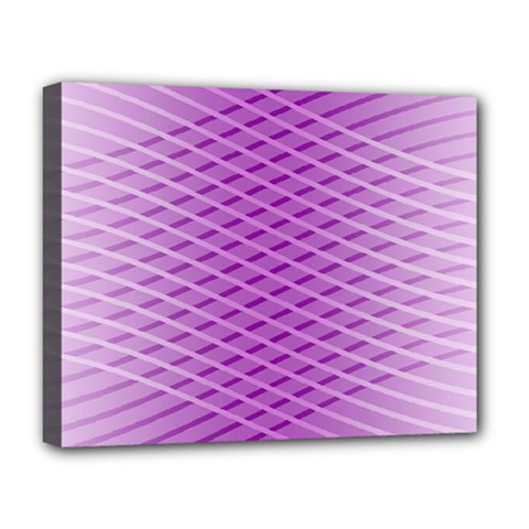 Abstract Lines Background Deluxe Canvas 20  X 16   by Amaryn4rt