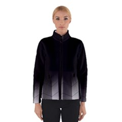 Wall White Black Abstract Winterwear by Amaryn4rt