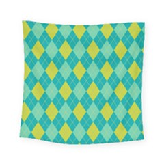 Plaid Pattern Square Tapestry (small) by Valentinaart