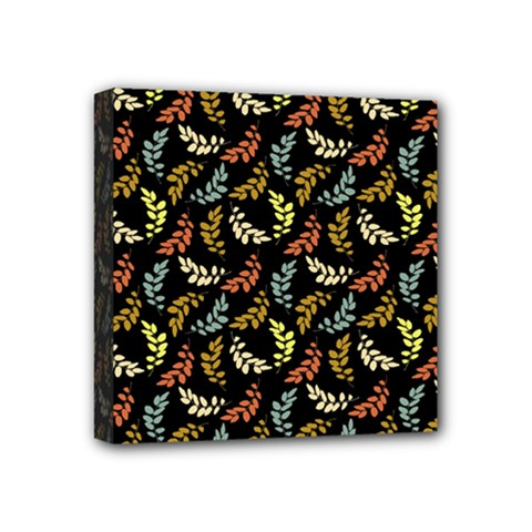 Pattern Mini Canvas 4  X 4  by Valentinaart