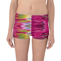 Abstract Pink Colorful Water Background Reversible Bikini Bottoms