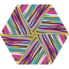 Multi Color Tangled Ribbons Background Wallpaper Mini Folding Umbrellas by Amaryn4rt