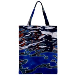 Colorful Reflections In Water Zipper Classic Tote Bag by Amaryn4rt