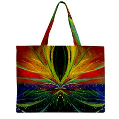 Future Abstract Desktop Wallpaper Zipper Mini Tote Bag by Amaryn4rt