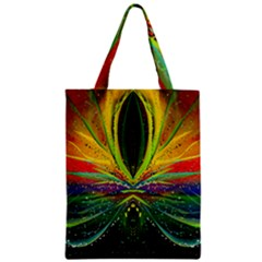 Future Abstract Desktop Wallpaper Zipper Classic Tote Bag by Amaryn4rt