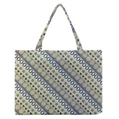 Abstract Seamless Pattern Medium Zipper Tote Bag
