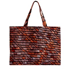 Roof Tiles On A Country House Zipper Mini Tote Bag by Amaryn4rt