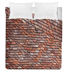 Roof Tiles On A Country House Duvet Cover Double Side (queen Size) by Amaryn4rt